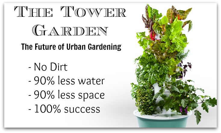 Tower Garden Review Urban Gardening In Coloardo
