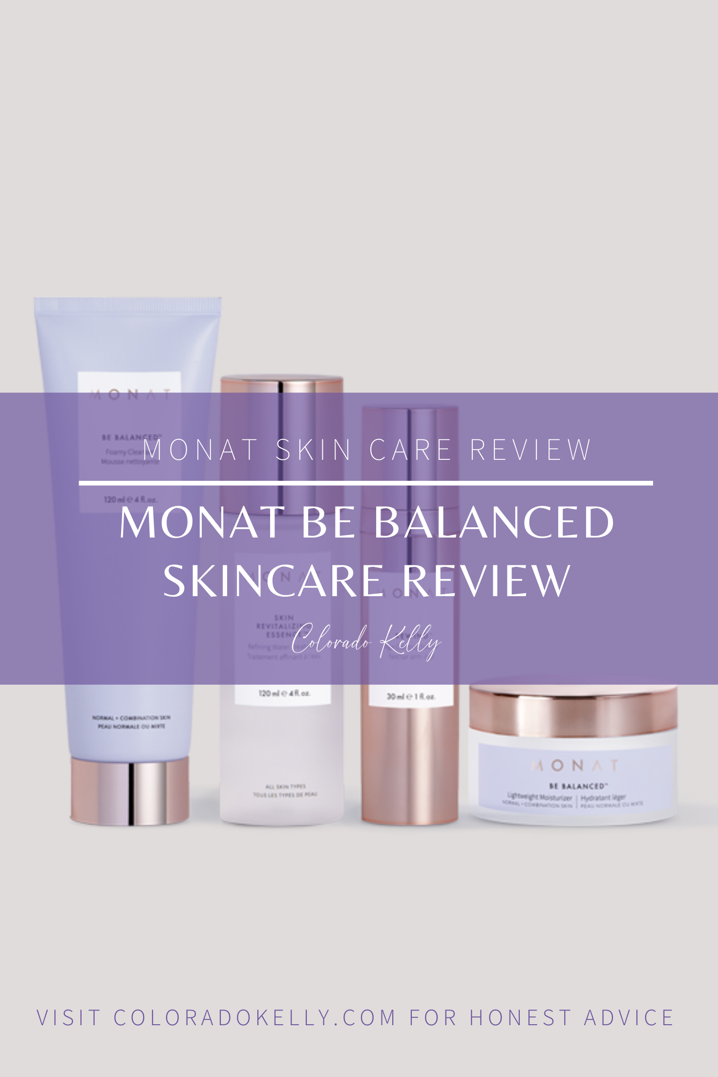 Monat Be Balanced Skincare Review Colorado Kelly